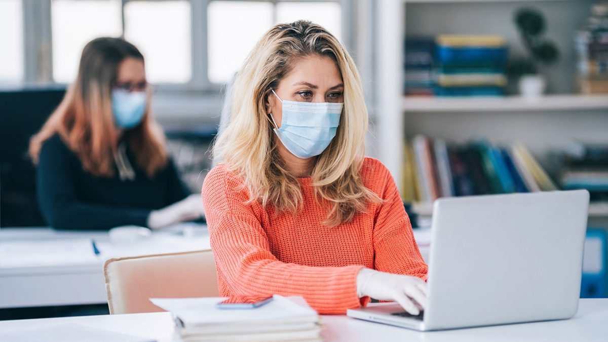 life after covid-19 – getting the best out of your work environment and employees - face mask when working 1360x7651 1200x675 - Life After COVID-19 – Getting The Best Out Of Your Work Environment And Employees