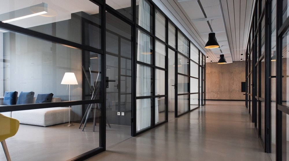 The office isn't dead, the future of offices lie on flexibility - WorkspaceCleanHallway - The office isn't dead, the future of offices lie on flexibility